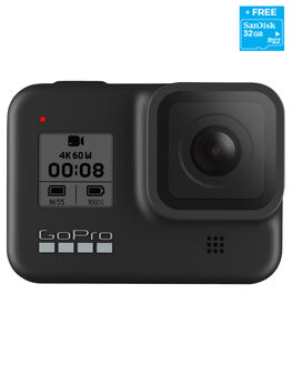BLACK MENS ACCESSORIES GOPRO AUDIO + CAMERAS - CHDSB-801BLK