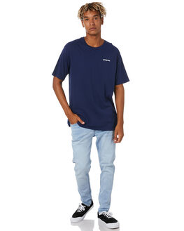 CLASSIC NAVY MENS CLOTHING PATAGONIA TEES - 38535CNY
