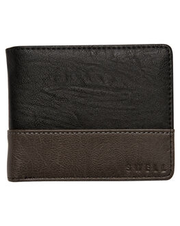 BLACK MENS ACCESSORIES SWELL WALLETS - S51741586BLK
