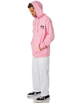 MID PINK MENS CLOTHING STUSSY JUMPERS - ST095107MDPNK