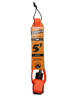 ORANGE BOARDSPORTS SURF CAPTAIN FIN CO. LEASHES - CX182000ORG