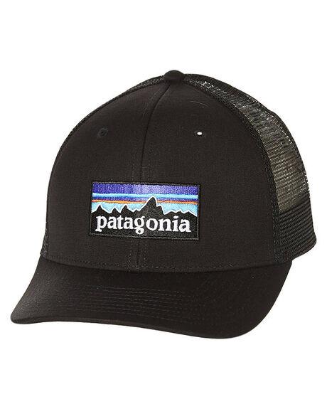 BLACK MENS ACCESSORIES PATAGONIA HEADWEAR - 38017BLK