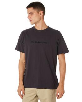 HERITAGE BLACK MENS CLOTHING THRILLS TEES - TH9-104HBHRBLK