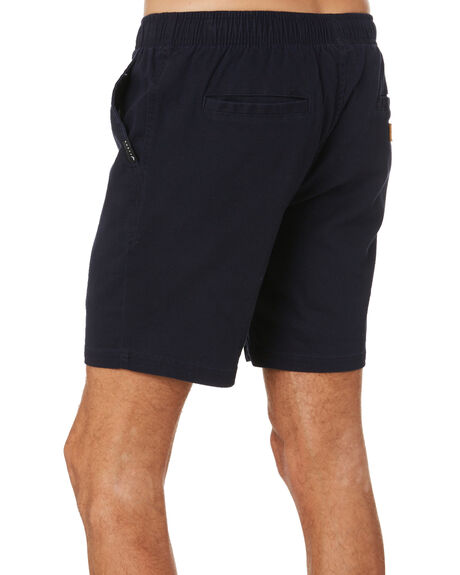 NAVY BLUE MENS CLOTHING RUSTY SHORTS - WKM1060NVB