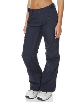 NAVY SNOW OUTERWEAR THE NORTH FACE PANTS - NF0A2TJQH2GRNVY