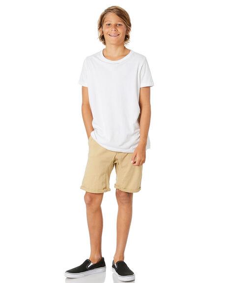 CORNSTALK KIDS BOYS RUSTY SHORTS - WKB0268CNL