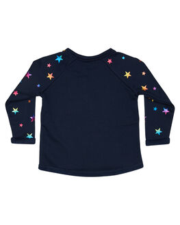 NAVY RAINBOW FOIL KIDS GIRLS EVES SISTER JUMPERS + JACKETS - 8010059NAVY