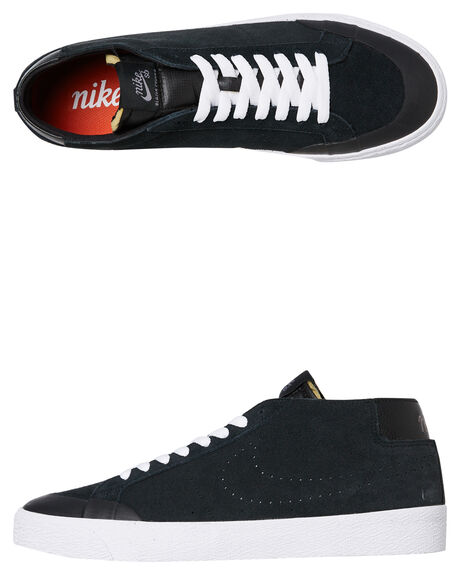 BLACK GUNSMOKE MENS FOOTWEAR NIKE SKATE SHOES - AH3366-001