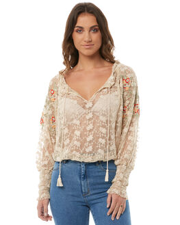 IVORY WOMENS CLOTHING FREE PEOPLE FASHION TOPS - OB7543541103