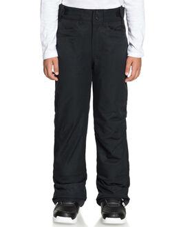 TRUE BLACK BOARDSPORTS SNOW ROXY BOYS - ERGTP03015KVJ0