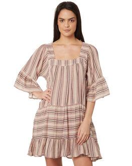 STRIPE WOMENS CLOTHING TIGERLILY DRESSES - T395412STR