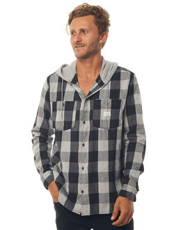 DGH MOTHERFLY CHECK MENS CLOTHING QUIKSILVER SHIRTS - EQYWT03657KRP1