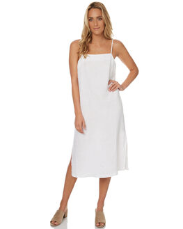 WHITE WOMENS CLOTHING ASSEMBLY DRESSES - AW-S17120WHT
