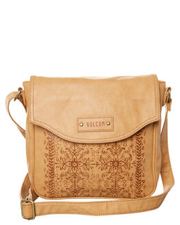 VINTAGE BROWN WOMENS ACCESSORIES VOLCOM BAGS - E6531776VBN
