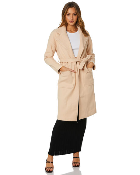 CREAM WOMENS CLOTHING SNDYS JACKETS - SFJ078CRM