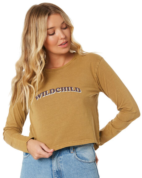 CAMEL WOMENS CLOTHING RUSTY TEES - TTL1094CAM
