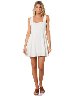 CREAM WOMENS CLOTHING ROLLAS DRESSES - 13041311