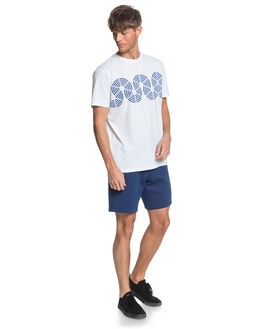WHITE MENS CLOTHING QUIKSILVER TEES - EQYKT04015-WBB0