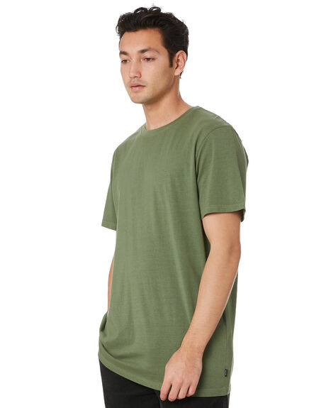 FOREST GREEN MENS CLOTHING RIP CURL TEES - CTESZ20056