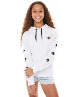 WHITE KIDS GIRLS BILLABONG JUMPERS - 5571661WHT