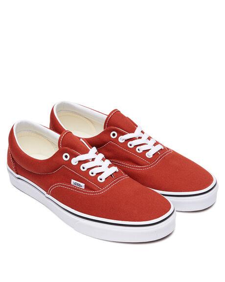 RED WOMENS FOOTWEAR VANS SNEAKERS - SSVN0A4U39WK8REDW