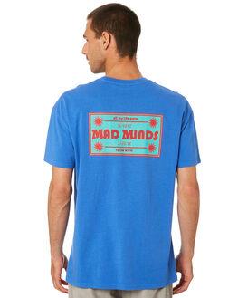 ROYAL BLUE MENS CLOTHING MISFIT TEES - MT005008RYLBL