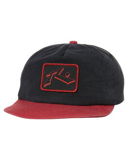 BLACK KIDS BOYS RUSTY HEADWEAR - HCB0322BLK