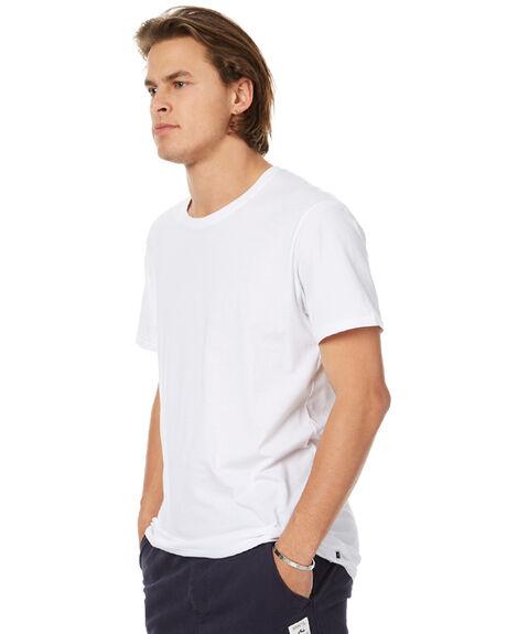 WHITE MENS CLOTHING RUSTY TEES - TTM1865WHT
