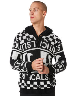 PHANTOM MENS CLOTHING THE CRITICAL SLIDE SOCIETY KNITS + CARDIGANS - KT1837PHANT