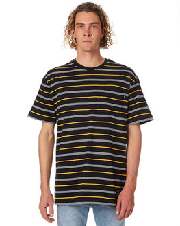 BLACK MENS CLOTHING ST GOLIATH TEES - 4314021BLK