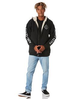 BLACK MENS CLOTHING SALTY CREW JUMPERS - 20335070BLK
