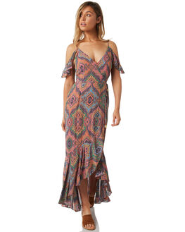 MULTI WOMENS CLOTHING TIGERLILY DRESSES - T382416MUL