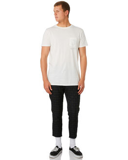 OFF WHITE MENS CLOTHING BANKS TEES - WTS0409_OWH