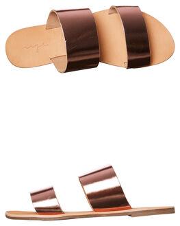 ROSE GOLD METALIC WOMENS FOOTWEAR URGE FASHION SANDALS - URG160069ROSE