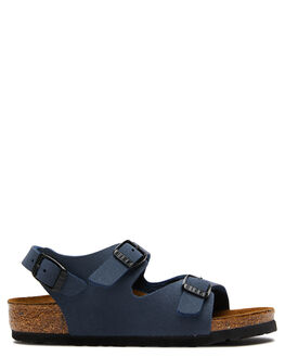 NAVY KIDS BOYS BIRKENSTOCK THONGS - 1007941NAVY