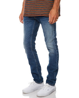 SHACKLED AND BLUE MENS CLOTHING NUDIE JEANS CO JEANS - 112477SHBL