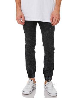 BLACK ACID MENS CLOTHING ZANEROBE PANTS - 711-RSPBLKAC