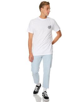 WHITE MENS CLOTHING SANTA CRUZ TEES - SC-GTA7534WHT