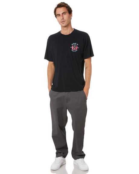 FADED BLACK MENS CLOTHING OBEY TEES - 163002557FBLK