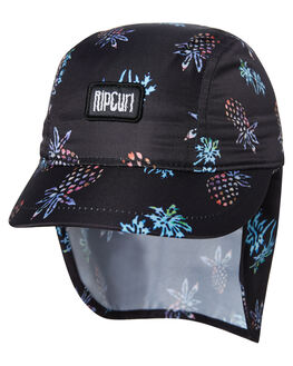 BLACK KIDS BOYS RIP CURL HEADWEAR - OCAQK10090