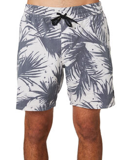 BLACK WHITE MENS CLOTHING VOLCOM BOARDSHORTS - A2541901BWH