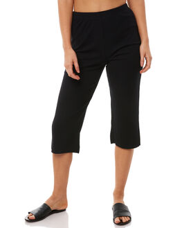 BLACK WOMENS CLOTHING SILENT THEORY PANTS - 6010040BLK