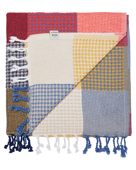 MULTI WOMENS ACCESSORIES MAYDE TOWELS - 19PATMULTMULTI