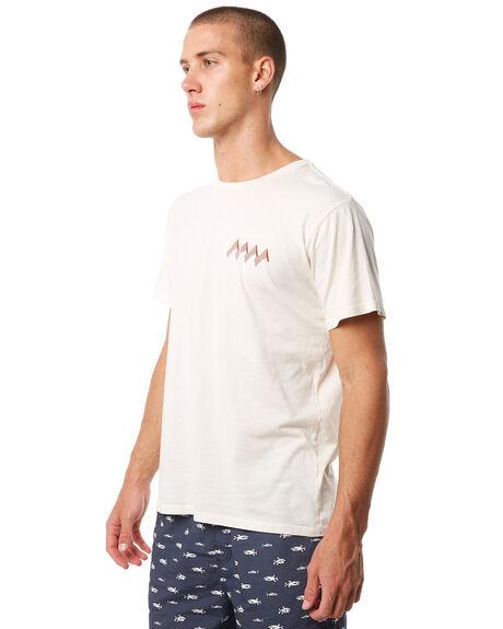 NATURAL MENS CLOTHING MOLLUSK TEES - MS1538NAT