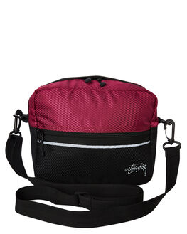 PLUM MENS ACCESSORIES STUSSY BAGS + BACKPACKS - ST793013PLUM