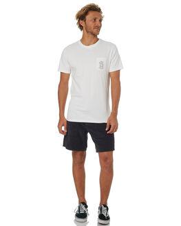WHITE MENS CLOTHING RHYTHM TEES - OCT18M-PT09-WHT