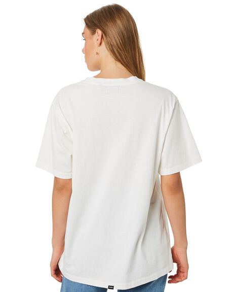 DIRTY WHITE WOMENS CLOTHING THRILLS TEES - WTA20-123ADWHT