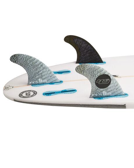GREY BLACK BOARDSPORTS SURF FCS FINS - FHSM-CC01-MD-FS-RGRB