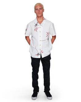 WHITE MENS CLOTHING BILLABONG SHIRTS - BB-9592205-WHT