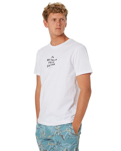WHITE MENS CLOTHING RUSTY TEES - TTM2291WHT